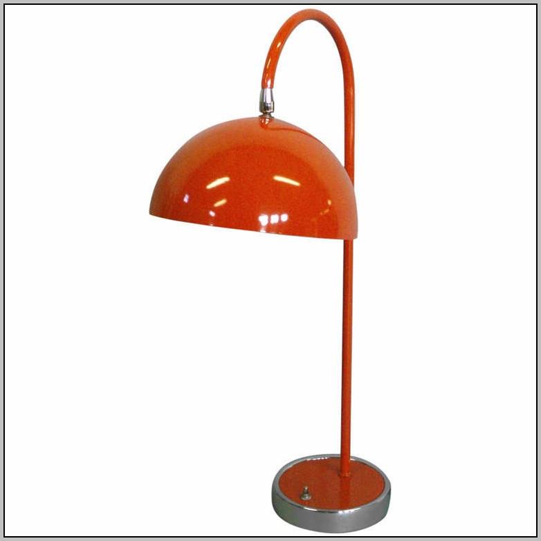 Modern Orange Desk Lamp