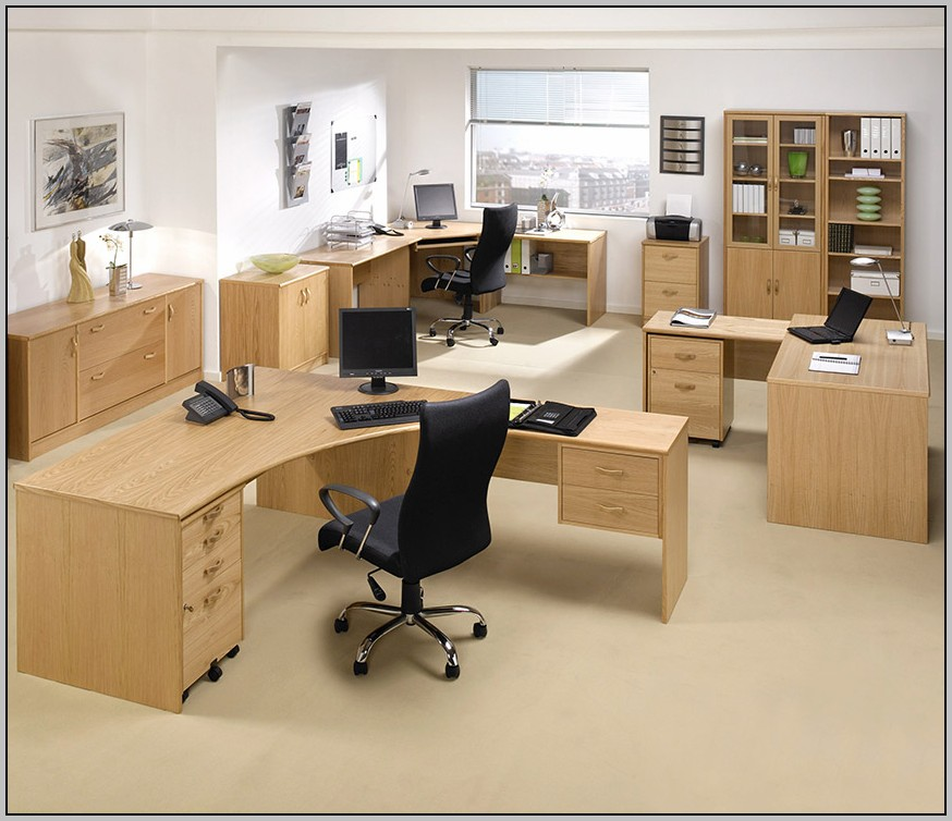 Modular Office Desk Systems