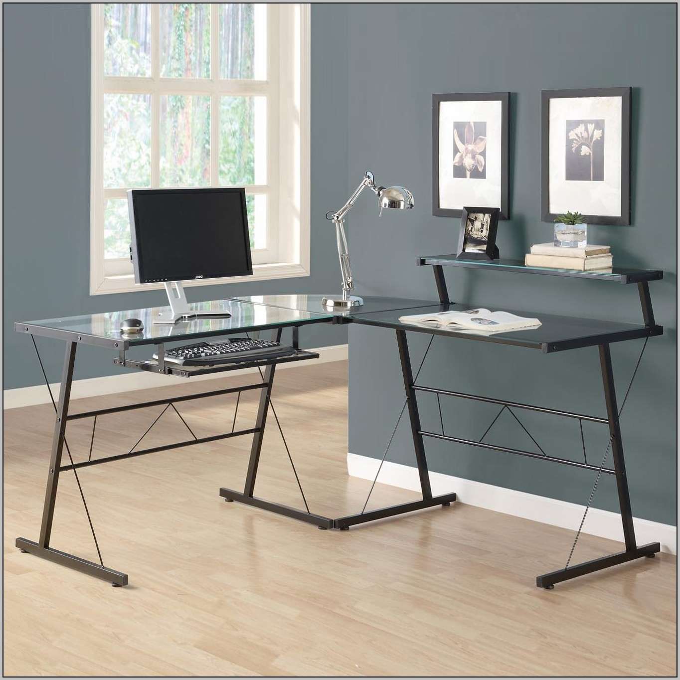 Monarch L Shaped Home Office Desk