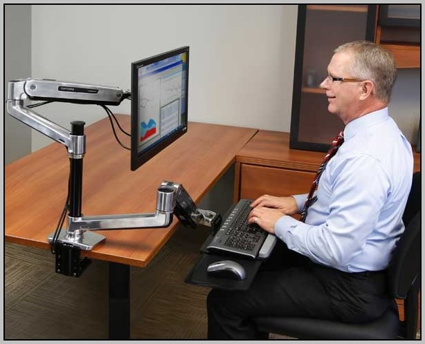 Monitor Desk Mount Canada