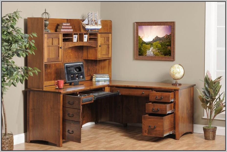 Oak Corner Desk Ikea