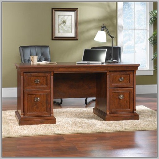 Office Depot Sauder Shoal Creek Executive Desk