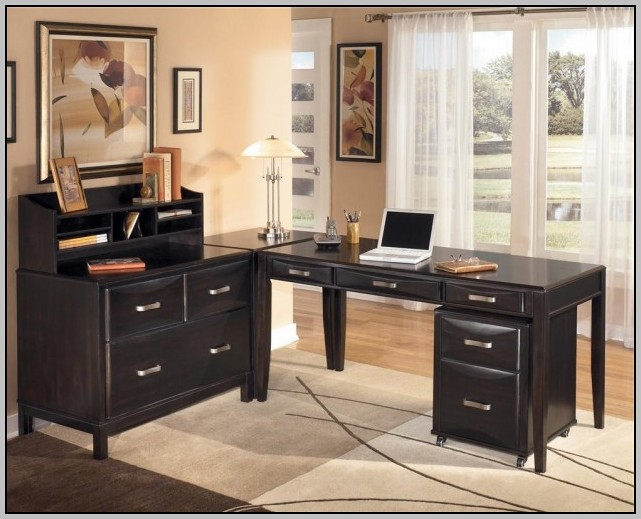 Office Desk L Shaped With Hutch