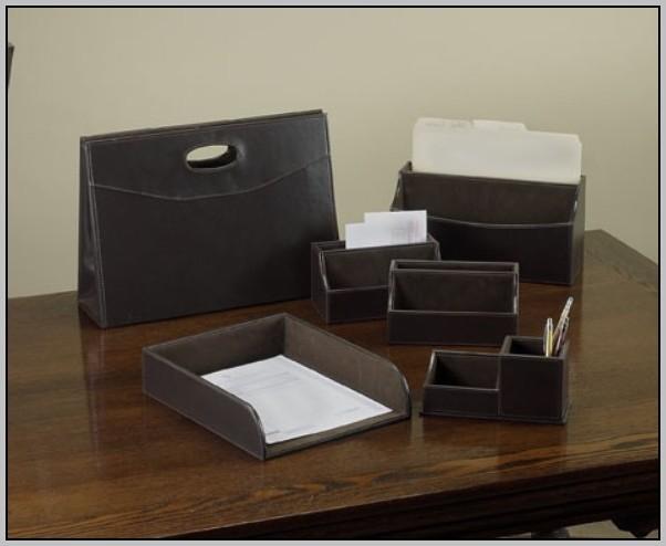 Office Desk Sets Leather