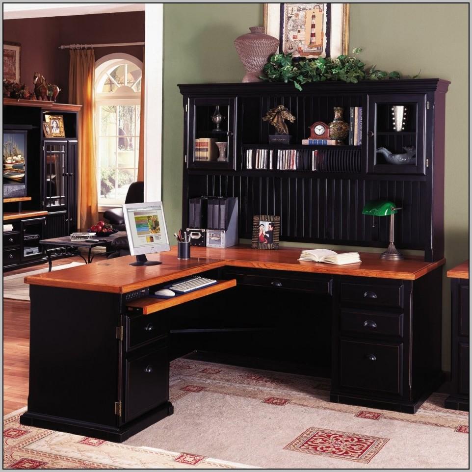 Office Desks L Shaped Black