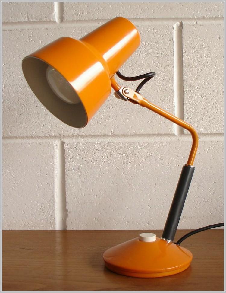 Orange Desk Lamp Ebay