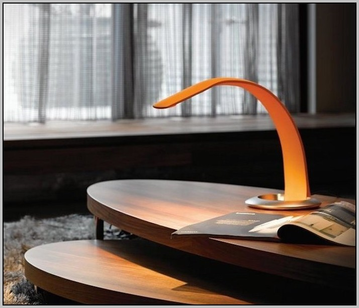 Orange Led Desk Lamp