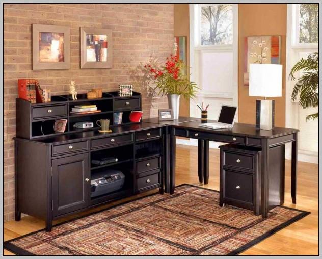 Rustic Looking Office Desk