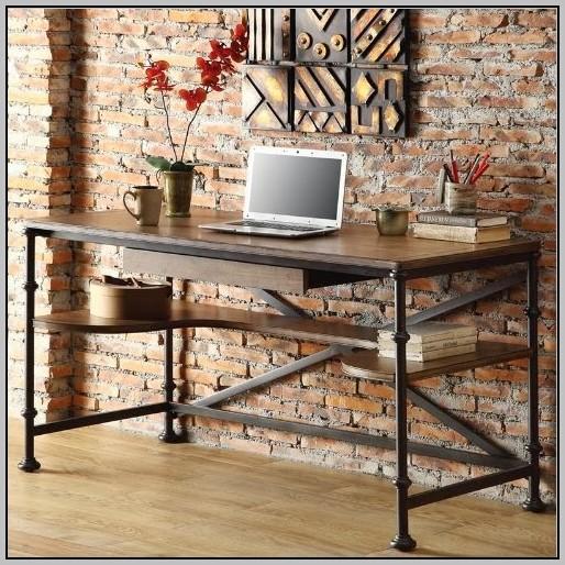 Rustic Modern Wood Desks