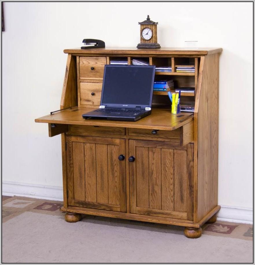 Rustic Oak Office Desk