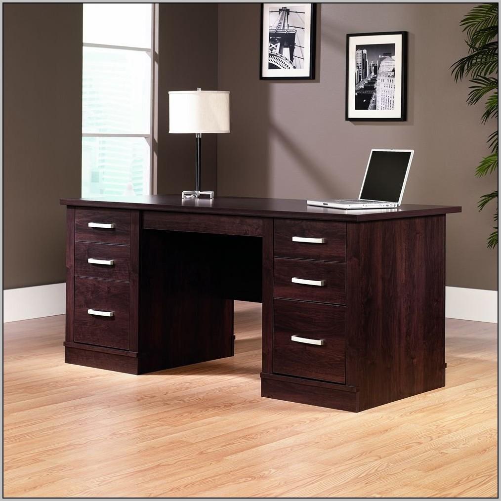 Sauder Computer Desk With Hutch Walmart