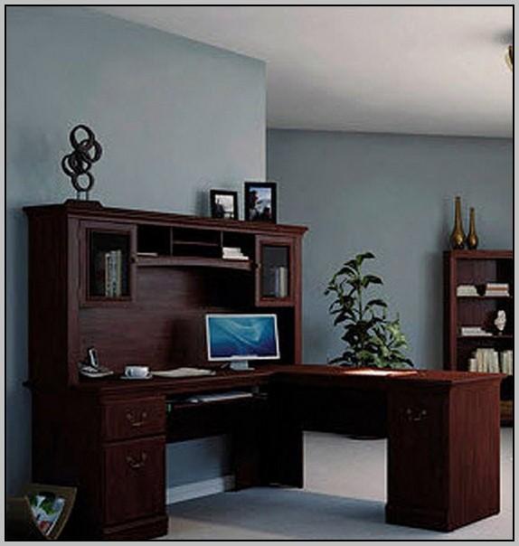 Sauder Traditional L Shaped Desk