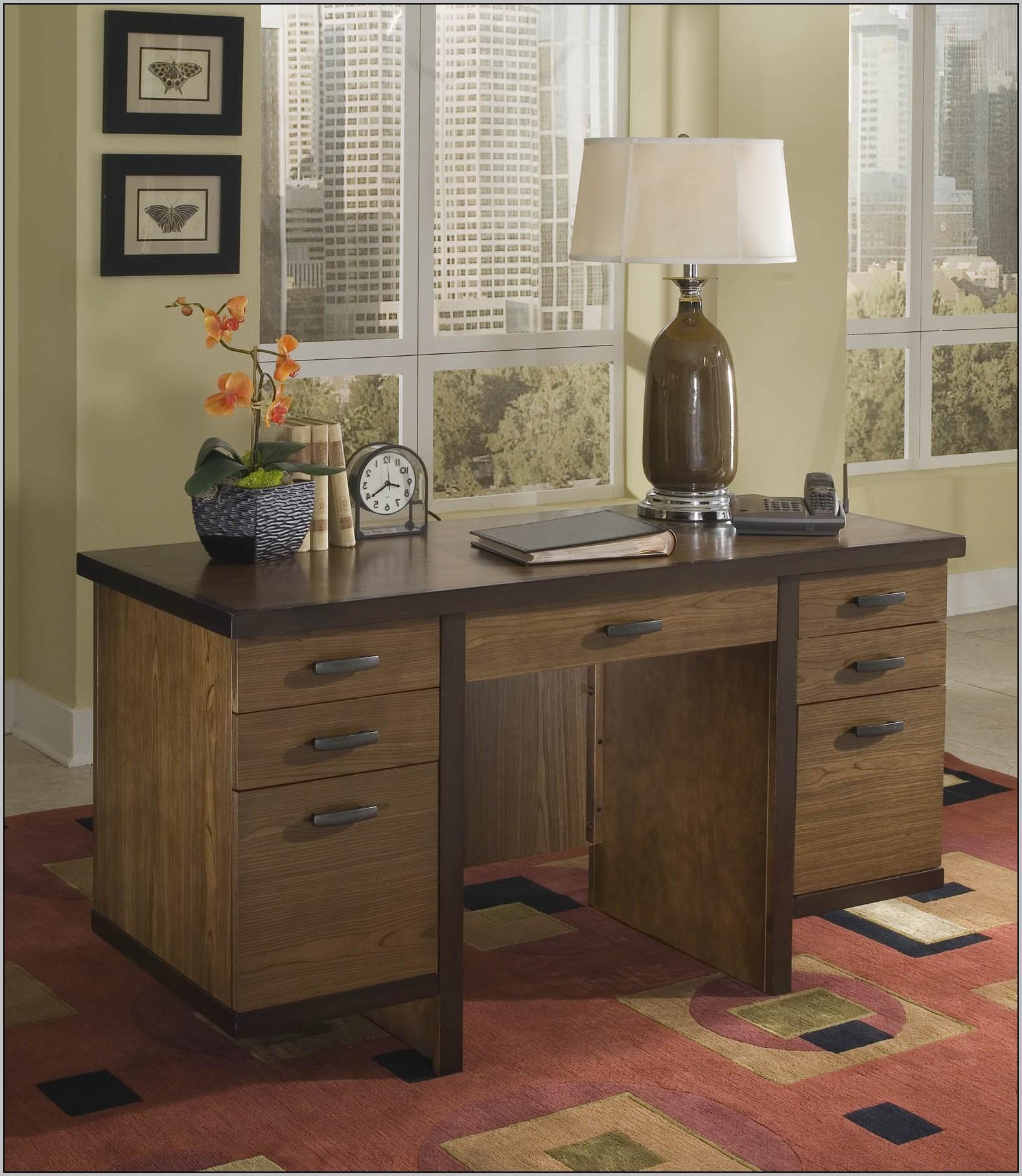 Single Pedestal Desk Plans