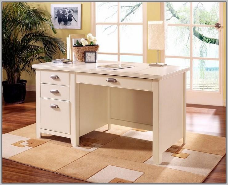 Single Pedestal Desk With Filing Drawer