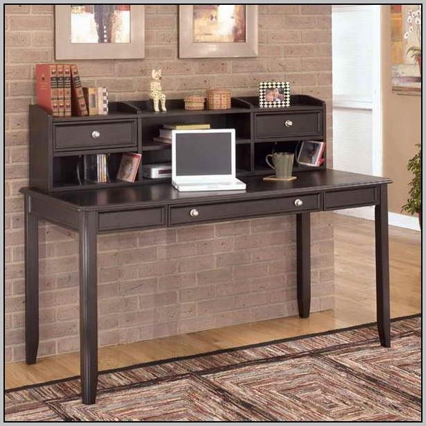 Small Black Secretary Desk