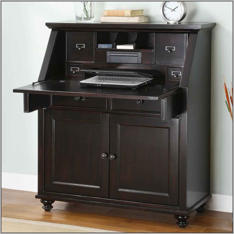 Small Painted Secretary Desk
