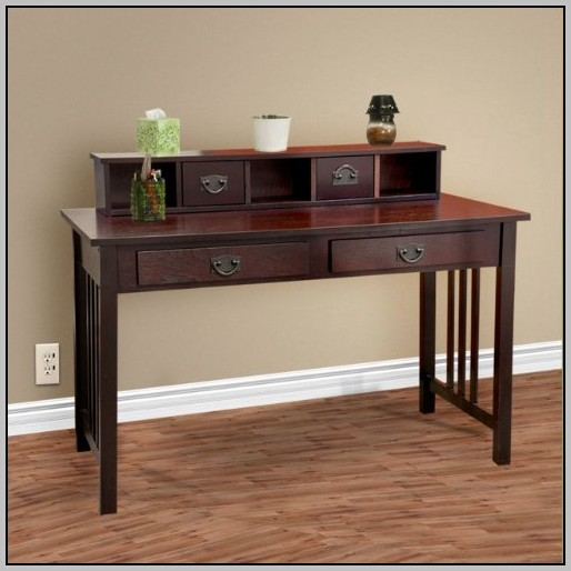 Small Solid Wood Writing Desk