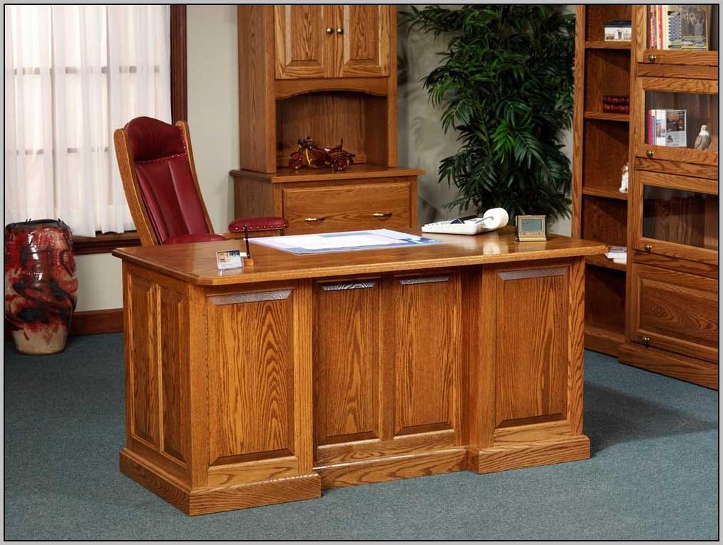 Solid Oak Desks For Home Office