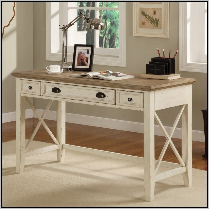Solid Wood Writing Laptop Desk