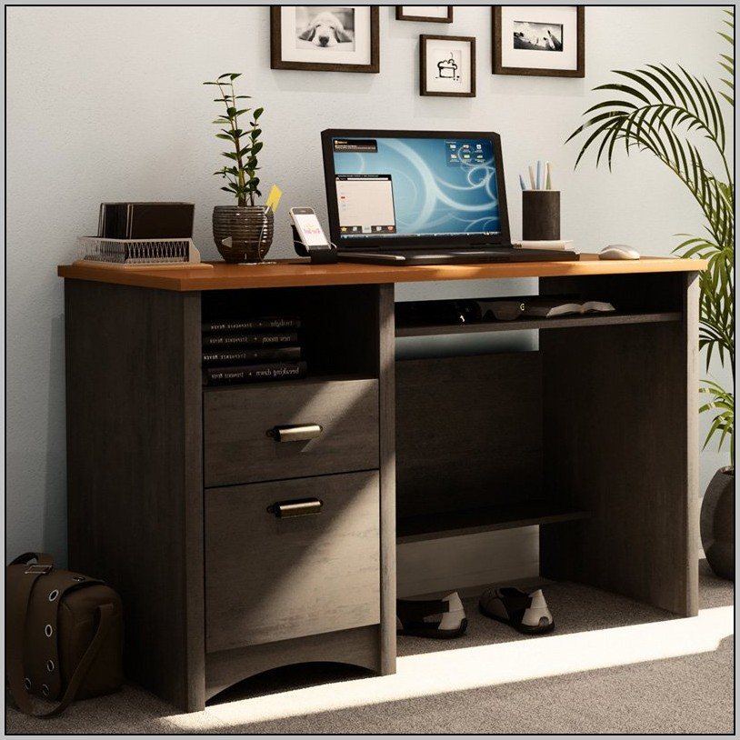South Shore Desk Black