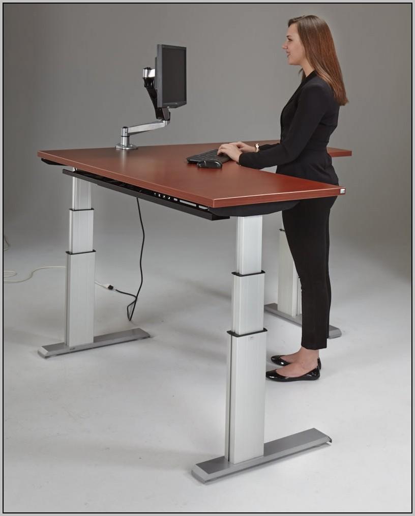 Standing Desk Adjustable Pneumatic