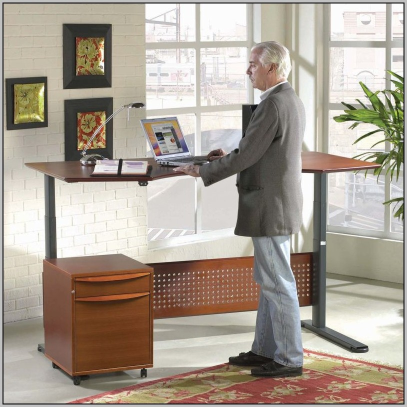Standing Desk Adjustable Sit Stand Desk