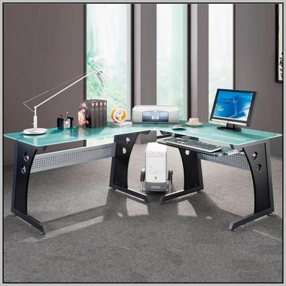 Techni Mobili Computer Desk L Shaped