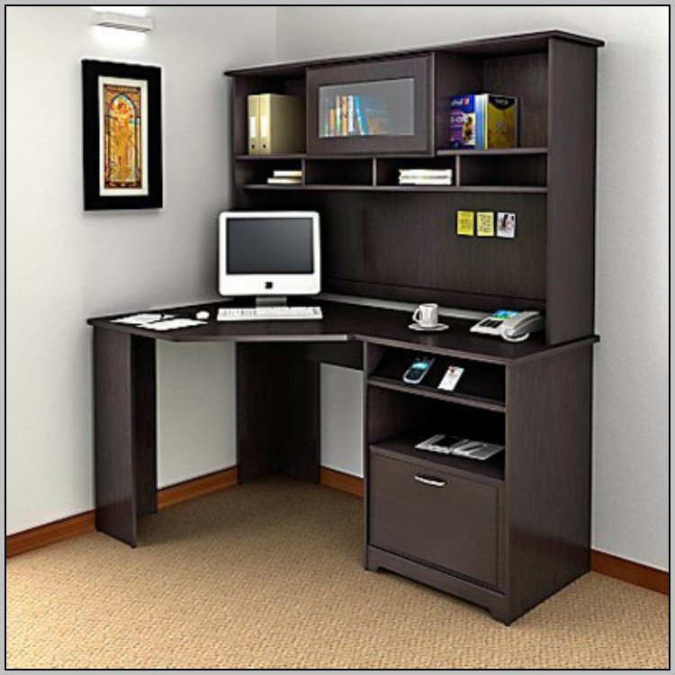 Two Person Computer Desk With Hutch