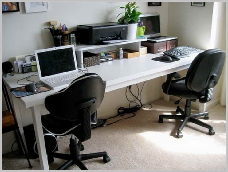 Two Person Computer Desks For Home