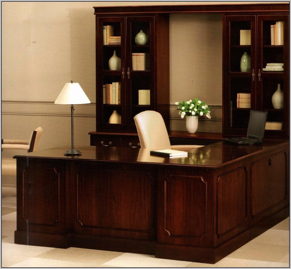 Used Executive L Shaped Desk