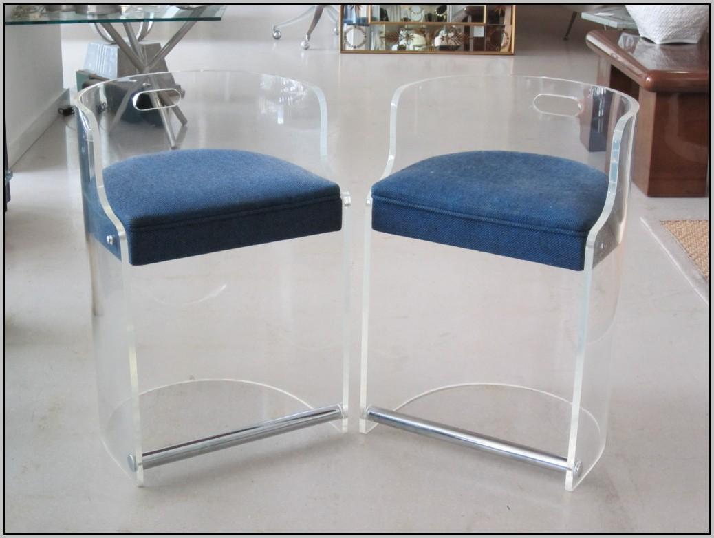 Vintage Lucite Desk Chair