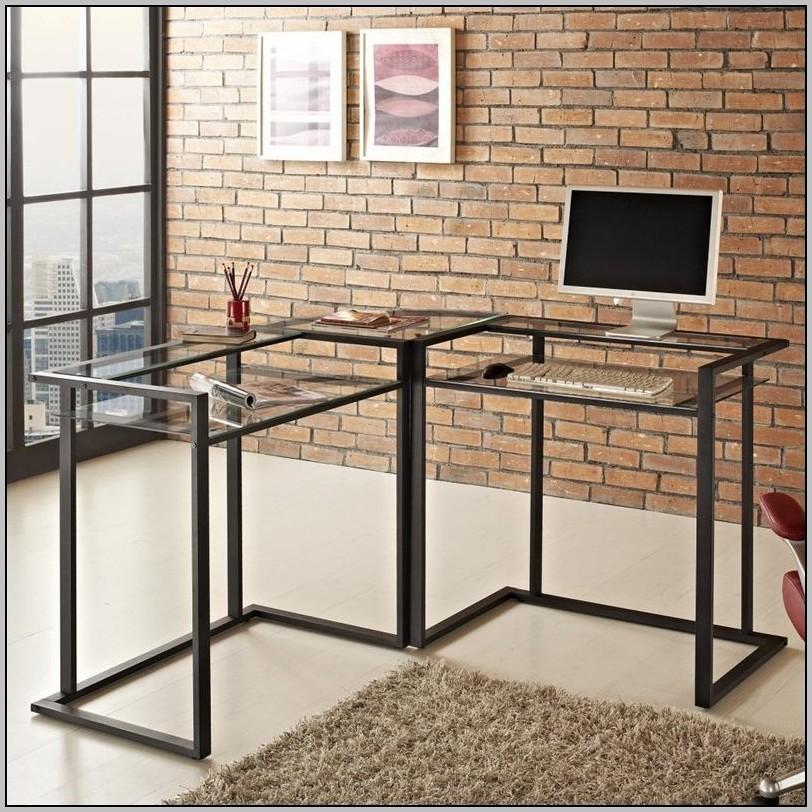 Walker Edison Desk Black