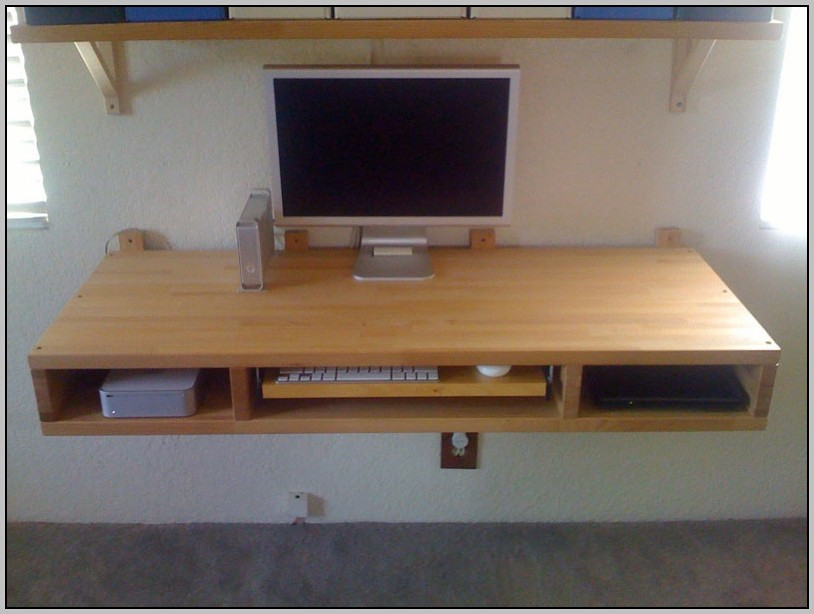 Wall Computer Desk Ikea