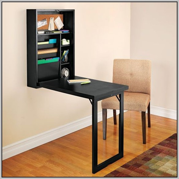 Wall Mounted Collapsible Desk