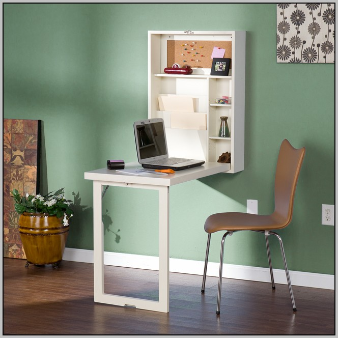 Wall Mounted Desk Fold Up
