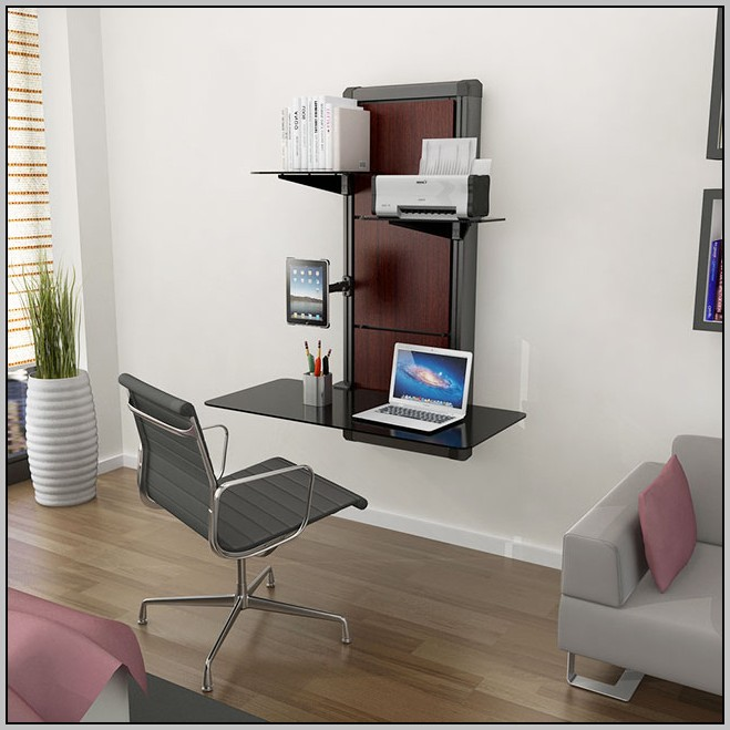 Wall Mounted Folding Desk Table