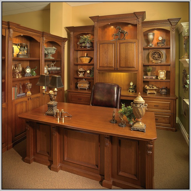 Wall Unit Desk Furniture