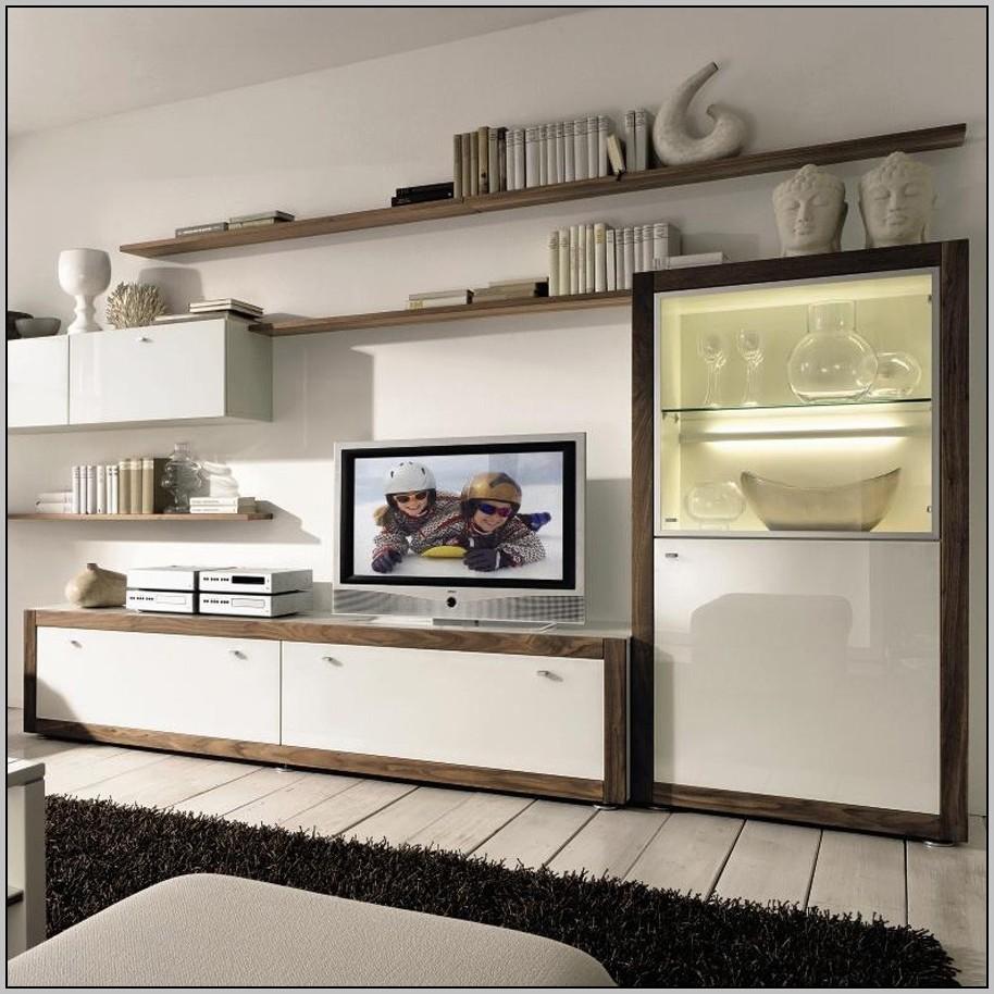 Wall Unit Desk Storage