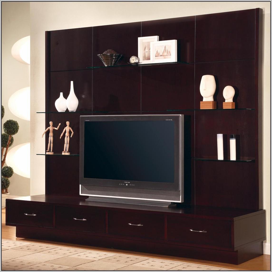 Wall Unit Desk Tv