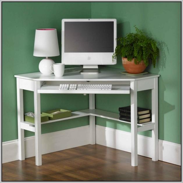 White Corner Computer Desk Australia