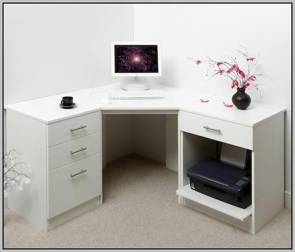 White Corner Desks For Home
