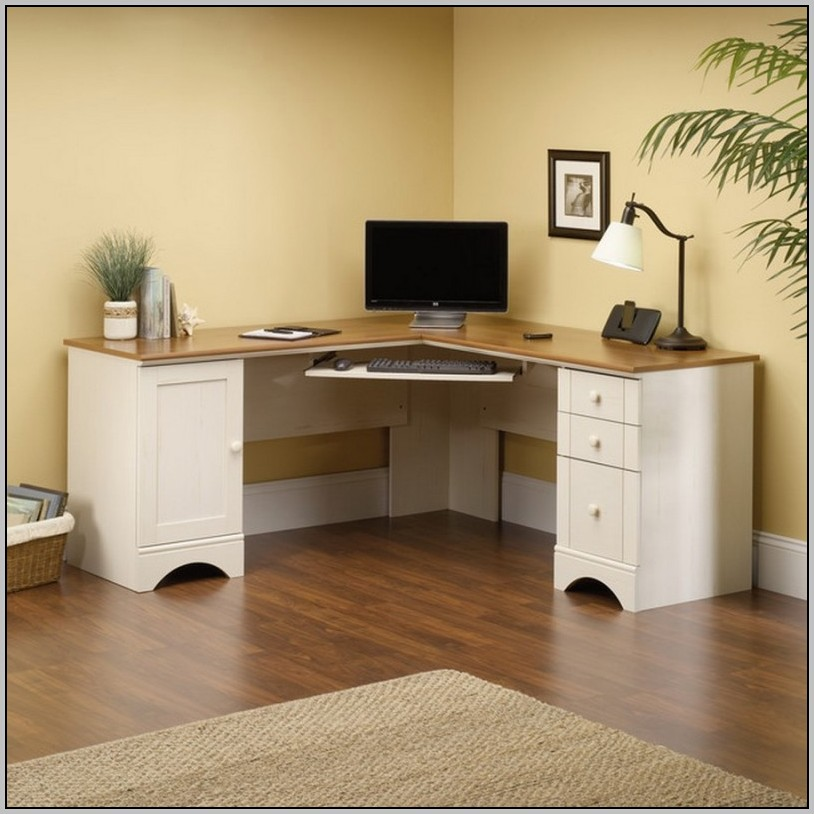 White Corner Desks Ikea