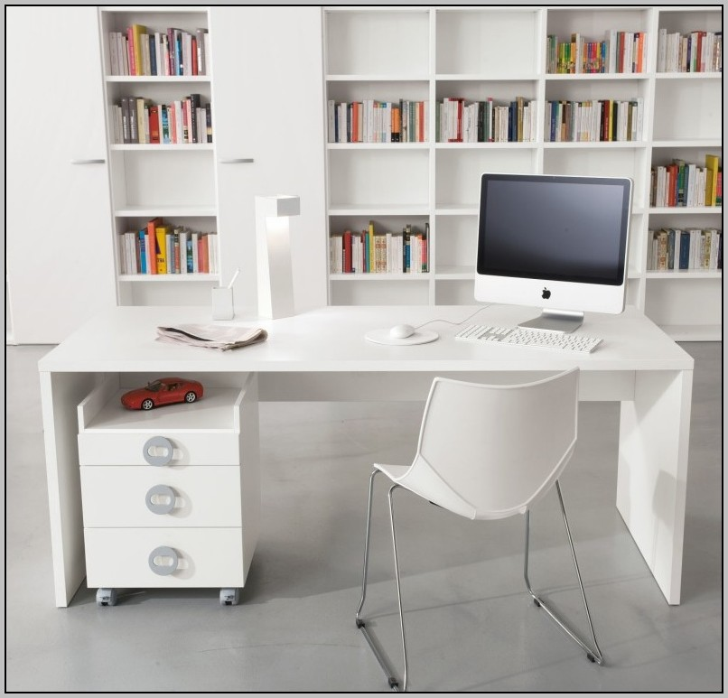 White Ikea Desk Ebay