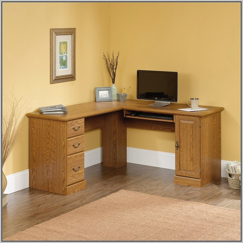 Wood Corner Desk Canada