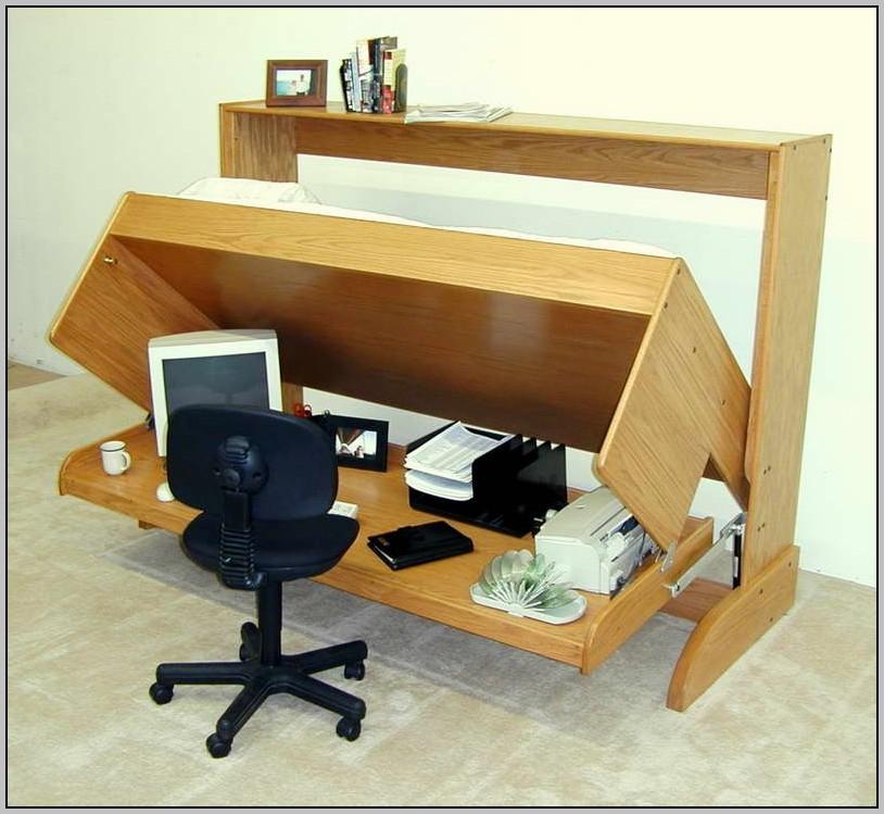 Wood Corner Desk Organizer