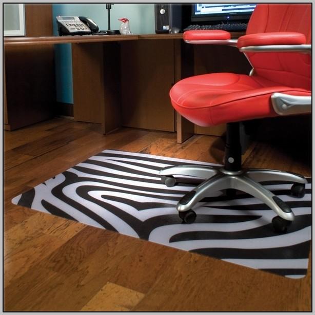 Zebra Desk Chair Mat