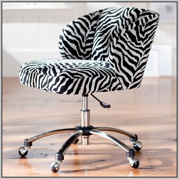 Zebra Desk Chair With Arms