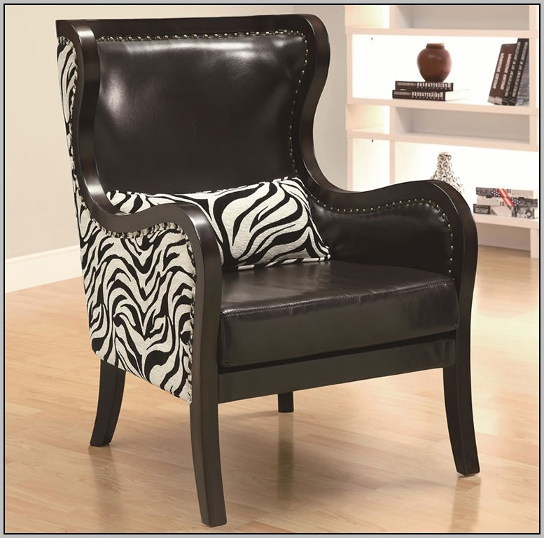Zebra Office Chair With Arms