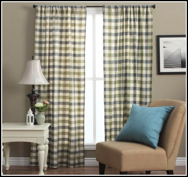 63 Inch Brown Sheer Curtains