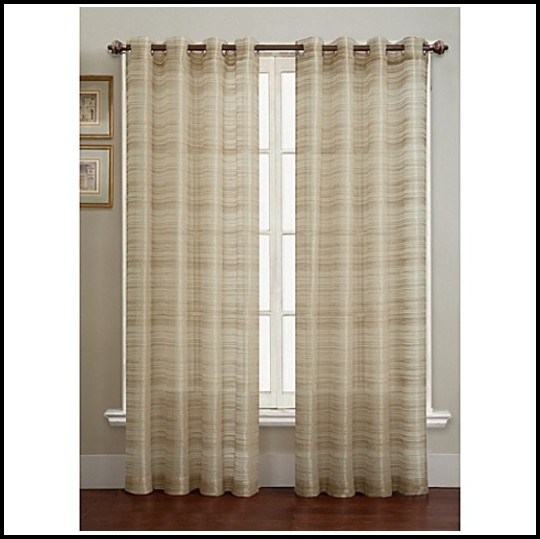 63 Inch Long Sheer Curtains